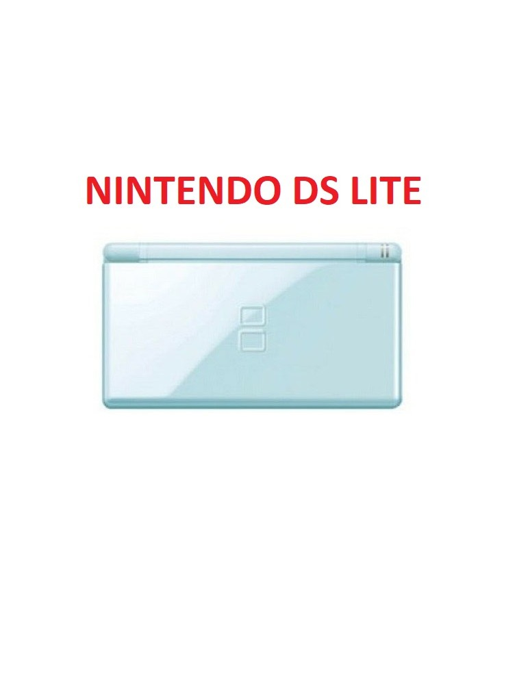 Case Completo Nintendo Ds Lite Celeste