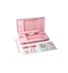 Case Completo Nintendo Ds Lite Rosa