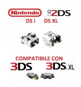 CONNETTORE RICARICA  Nintendo 2DS DSi DS XL