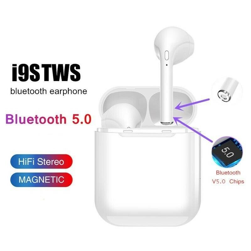 i9s TWS Cuffie auricolari Bluetooth