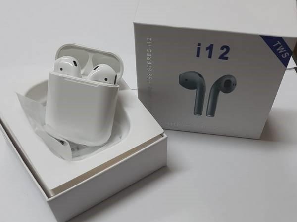i12 TWS Cuffie auricolari Bluetooth